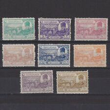 TURKEY 1924, Sc# 625-632, CV $163, Bridge of Sakarya, NG/MH