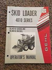 Gehl 4010 Series Skid Loader Service Parts Manual
