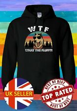WTF What The Fluff Sunset Sunglasses Dog  Men Women Unisex T-shirt Vest Top 3750