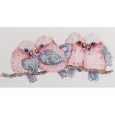DMC Australian Collection Cross Stitch Kit inc Threads Galahs New 582106 LS D...