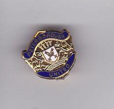 Peterborough United ( blue ) - lapel badge brooch fitting