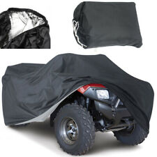 2x Black Universal Waterproof Quad Bike ATV ATC Rain Cover All Weather Protector