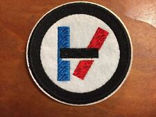 TWENTY ONE PILOTS TOP Nº2 - Logo Patch - Embroidered Iron On Patch 3 ""
