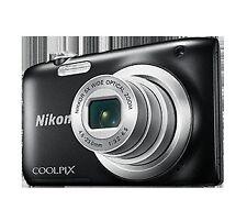 Camara Nikon Coolpix A100 negra palo selfie
