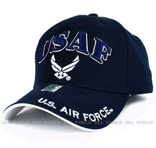 U.S. AIR FORCE hat USAF Military Official Licensed Baseball cap- Navy Blue/White