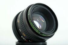 Auto Hanimex MC 50mm  F1,7 - Minolta MD mount lens made in Japan