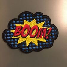 """BOOM! COMICS BD EMOTIONS Patch - Embroidered Iron On Patch 3 """""""