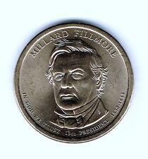 2010-P $1 Millard Fillmore Brilliant Uncirculated 13TH Presidential Dollar Coin!