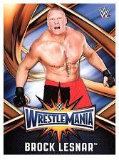 2017 TOPPS WWE Road to Wrestlemania 33 ROSTER #12  BROCK LESNER  50 CENT SHIP