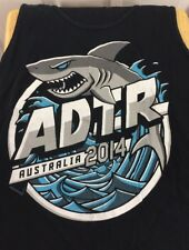 A Day To Remember Australia 2014 Tour Tank Top Small Black