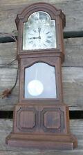 Vintage 428A 80-265 Sunbeam Tempus Fugit Electric Clock mini mantle grandfather