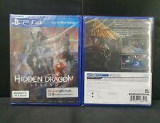 (ASIA ENGLISH VERSION) PS4 Hidden Dragon Legend (Brand New)