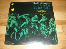 THE KINGS SINGERS continental collection LP Record - Sealed