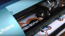 Bulk Logo Labels Sticker Decals Custom Print Vinyl own Design Printing & Cut
