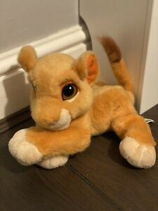 Disney lion king purring Simba plush soft toy