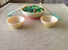 """18"""" doll salad bowl set dinner food New Fits American Girl Our Generation"""