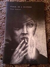 FUGUE ON A G-STRING Peter Crowther 1st ed 250 COPY SIGNED/NUMBERED chapbook fine