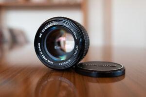Minolta MC Rokkor-PG 50mm f 1.4 Lens