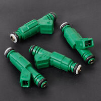 4pcs Fuel Injector 242 lb/hr 440cc 0280155968 fit Audi BMW Ford Lotus Chrysler
