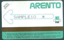 TELECARTE EGYPTE EGYPT TEST 5- Urmet - Test Demo -SAMPLE 10 - 1986 - Mint - RARE