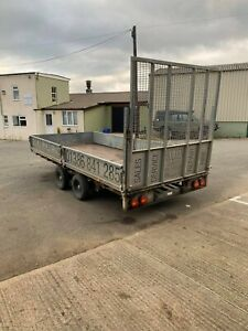 Ifor Williams trailer 14ft, with ramp