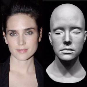 """Jennifer Connelly Life Mask Cast """"Snowpiercer """"A Beautiful Mind""""The Rocketeer""""!!"""