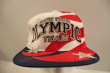 VTG 90sUSA Olympic Team Colorado Olympics Snapback Hat Cap Starter 8e11d63ae6bf