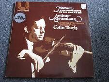 Arthur Grumiaux-Mozart-Violinkonzerte KV 207/218 LP-1962-Klassik-Holland-Philips