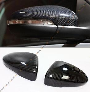 For 2011-2016 VolksWagen Scirocco EOS CC Carbon Fiber Mirror Cover Replacement