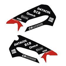 Schwingen Aufkleber Dekor passend für DUCATI Panigale 899 ab 2013 Aufkleber Rot