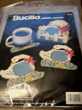 Geese Coasters & Holder Plastic Canvas Kit: Bucilla #5949