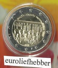 "Malta   2 Euro Commemorative 2012  ""Majority Representation –1887""met Muntteken"