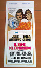 IL SEME DEL TAMARINDO locandina poster Sharif Andrews The Tamarind Seed U50