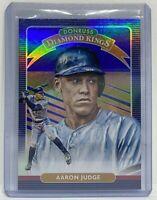 2020 Donruss Baseball Aaron Judge New York Yankees Diamond Kings Blue Holo