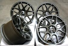 """18"""" ALLOY WHEELS CRUIZE CR1 GM GUNMETAL CONCAVE STAGGERED 5X120 18 INCH ALLOYS"""
