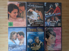 6 Liebesfilme DVDs - David & Layla - Verliebt in Paris - Danielle Steel