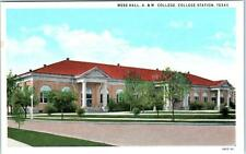 COLLEGE STATION, Texas  TX   Mess Hall  A. & M. COLLEGE  c1920s  Postcard