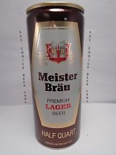 New listing Meister Brau Premium Lager Aluminum Pull Tab 16oz Beer Can #156-17 by Miller