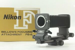 [Mint /w Box] Nikon Bellows PB-6 Focusing Attachment For F Mount From JAPAN #196