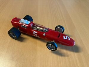 1/24 Indy style slotcar with a MPC Dyn-O-Charger motor and chassis