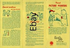 Vintage Hunts Photography Photo Points Pamphlet - B1
