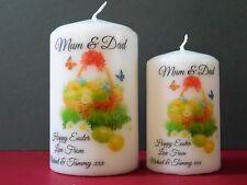 Personalised Easter Basket Candle Wife Girlfriend Husband Boyfriend Friend Gift