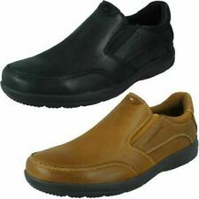 "Mens Hush Puppies Slip On Shoes ""Aaron"""