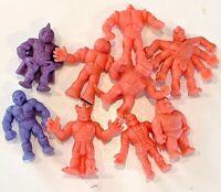 CHOOSE: Vintage 1980s M.U.S.C.L.E. MEN Action Figures * Muscle * Grape/Salmon