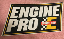 ENGINE PRO GLOSSY Stickers Decal  Automotive Racing Man Cave Toolbox Lot Of Four