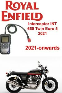 Royal Enfield Interceptor INT 650 Twin 2021- Onwards Compatible OBD FI Scanner