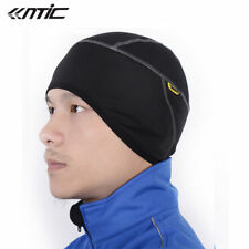 SANTIC Fleece Thermal Winter Cycling Beanie Bike Black Cap Sports Hat One Size