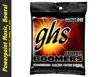 GHS GBTNT Boomers 10-52 Electric Guitar Strings Thin/Thick Brand New! RRP $13.99