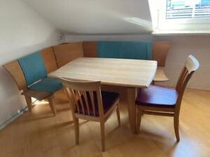 Eckbank Sitzgruppe Küche, Esszimmer mit Tisch und Stühlen Top Zustand!!