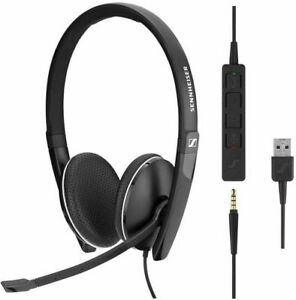 Epos Sennheiser SC 165 USB Headset Double-Sided and 3.5mm Jack (508317)